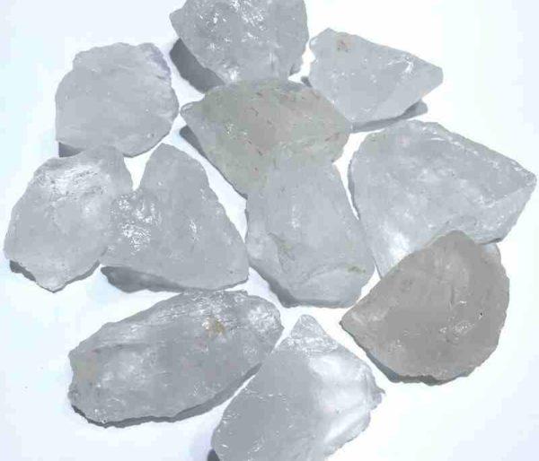 Pierres brutes Cristal de roche naturel
