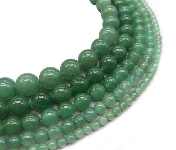 Perles rondes en aventurine 4mm