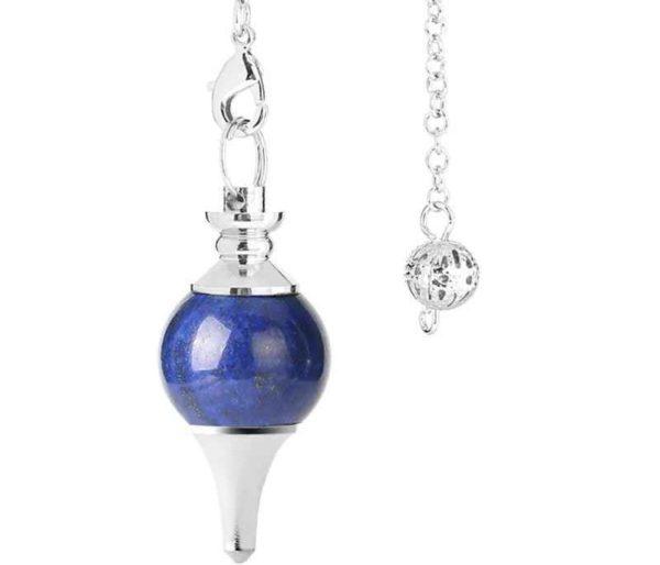 Pendule en lapis-lazuli séphoroton