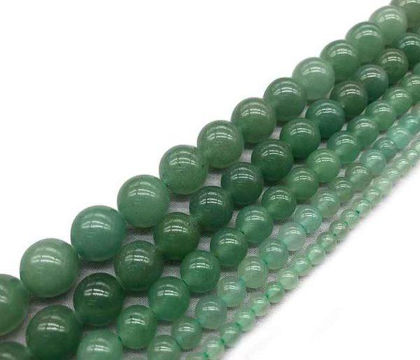 Perles rondes en aventurine 6mm