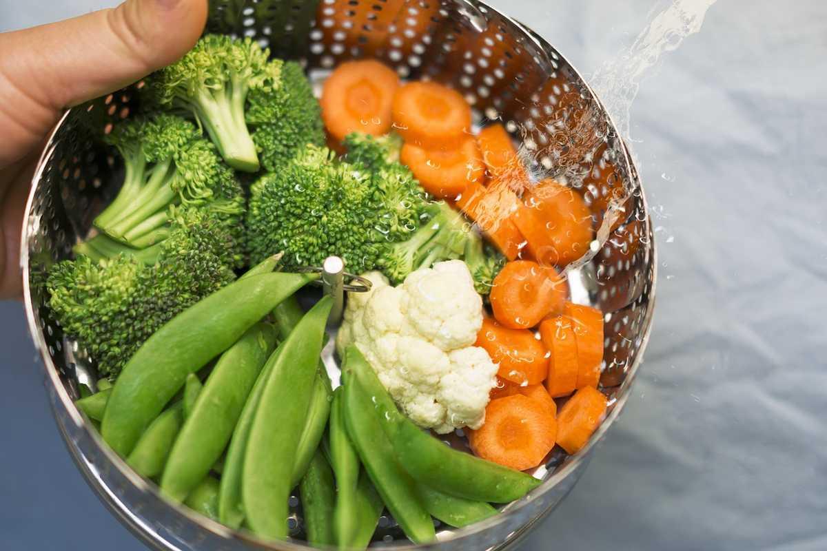 Légumes vapeur