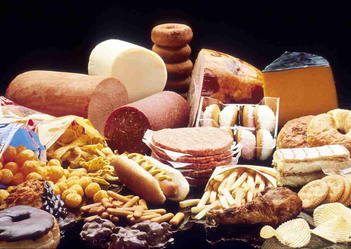 Aliments riches en gras