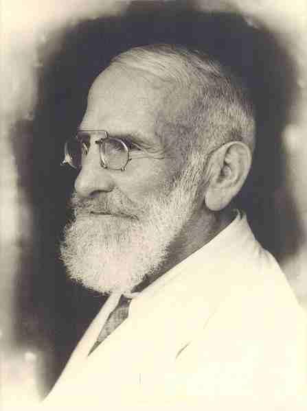 Portrait de Dr. Bircher-Benner, Suisse (auteur inconnu)