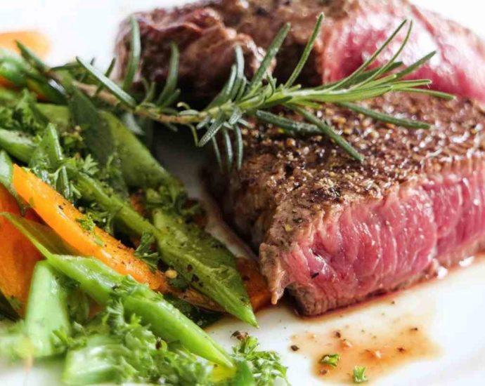 Protéines animales crues