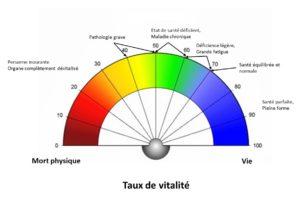 Taux de vitalité – Un pourcentage pour connaître le potentiel de vie