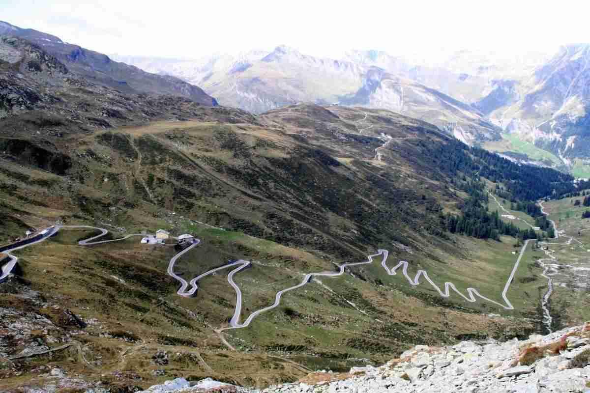 Col de Splügen, Suisse