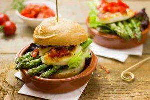 Idée pour un burger sain