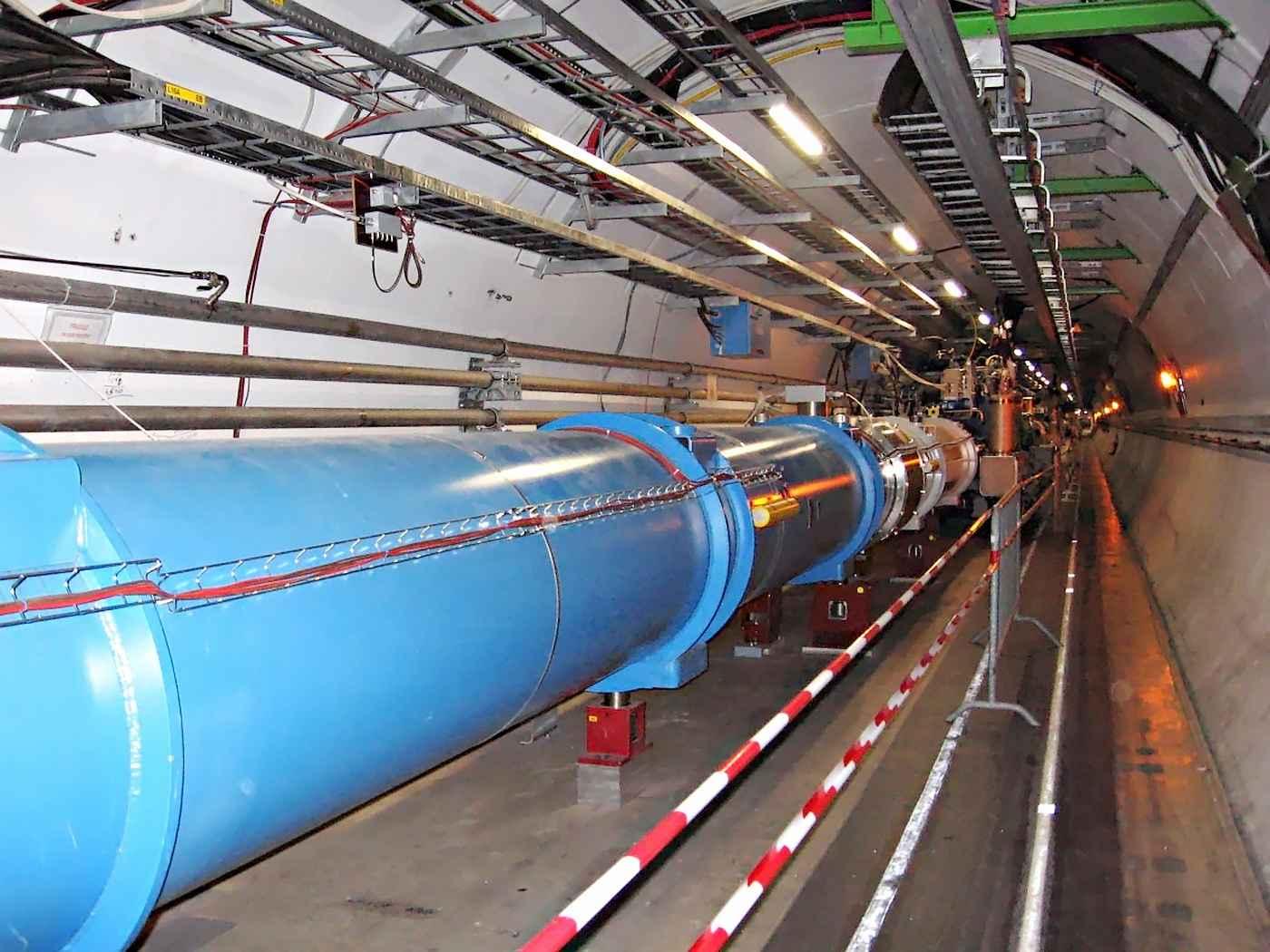 CERN, Tunnel LHC